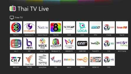 Screenshot 1 de Thai TV Live para windows