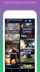 Captura 10 de PPSSPP Games Downloader - Free PSP Games , ISO para android