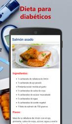 Captura de Pantalla 5 de Dieta para diabéticos para android