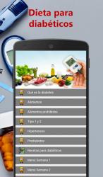 Captura de Pantalla 3 de Dieta para diabéticos para android