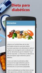 Captura de Pantalla 4 de Dieta para diabéticos para android