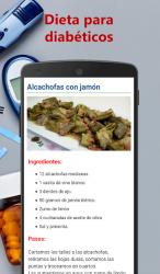 Captura 6 de Dieta para diabéticos para android