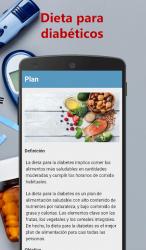 Captura de Pantalla 2 de Dieta para diabéticos para android