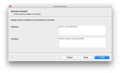 Captura 1 de Express Invoice Professional for Mac para mac