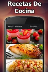 Screenshot 11 de Recetas De Cocina Caseras Rápidas Y Fáciles para android