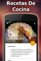 Captura 9 de Recetas De Cocina Caseras Rápidas Y Fáciles para android