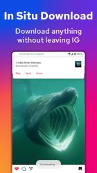 Screenshot 4 de Video Downloader for Instagram, Insta Story Saver para android