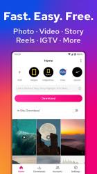 Screenshot 2 de Video Downloader for Instagram, Insta Story Saver para android