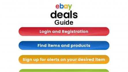 Captura 3 de eBay Deals Guide para windows