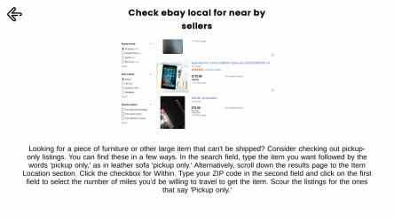 Screenshot 8 de eBay Deals Guide para windows