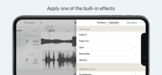 Imágen 3 de Hokusai Audio Editor para iphone