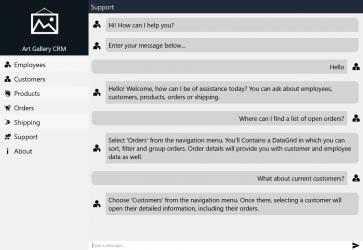 Captura 5 de Telerik CRM para windows