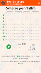 Imágen 10 de Djembe Loops, 250 African Percussion Rhythms para android