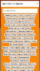 Screenshot 6 de Djembe Loops, 250 African Percussion Rhythms para android