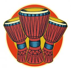 Screenshot 1 de Djembe Loops, 250 African Percussion Rhythms para android