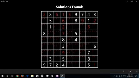 Captura de Pantalla 8 de Sudoku Tool para windows