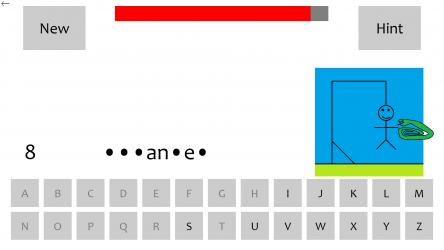 Screenshot 3 de Bible Hangman: Windows 10 Edition para windows