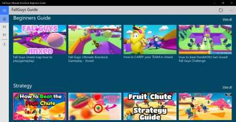 Captura de Pantalla 1 de Fall Guys Ultimate Knockout Beginners Guide para windows