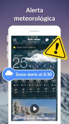 Screenshot 7 de Pronóstico del Tiempo y Widgets y Radar para android