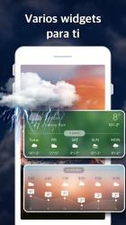 Captura de Pantalla 6 de Pronóstico del Tiempo y Widgets y Radar para android