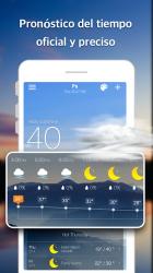 Captura 3 de Pronóstico del Tiempo y Widgets y Radar para android