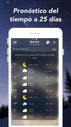 Screenshot 4 de Pronóstico del Tiempo y Widgets y Radar para android