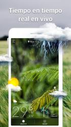 Captura de Pantalla 2 de Pronóstico del Tiempo y Widgets y Radar para android