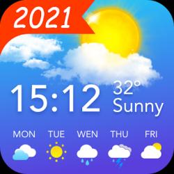 Screenshot 1 de Pronóstico del Tiempo y Widgets y Radar para android