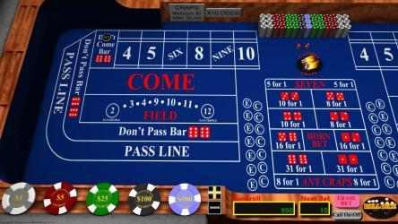 Captura 1 de Casino Craps para windows