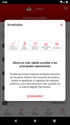 Captura 3 de Santander móvil para android