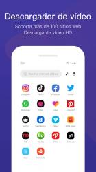 Captura 3 de AppMate - Descargador de vídeos y pegatinas para android