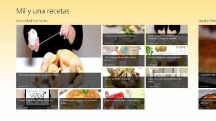 Captura de Pantalla 1 de Mil y una recetas para windows