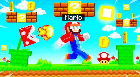 Screenshot 2 de Mario Mod for Minecraft PE + Mario World Map para android