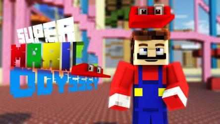 Captura 3 de Mario Mod for Minecraft PE + Mario World Map para android