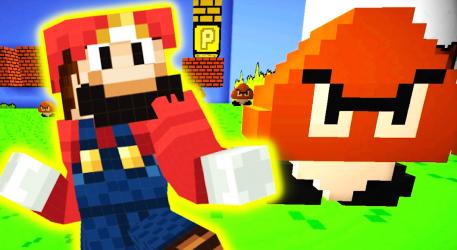 Captura de Pantalla 4 de Mario Mod for Minecraft PE + Mario World Map para android