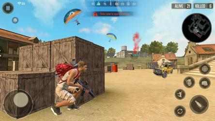 Screenshot 10 de Shooting Squad Survival : Free Fire Survival Squad para android