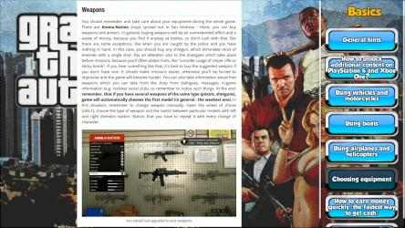 Screenshot 2 de GTA V GuideBook para windows
