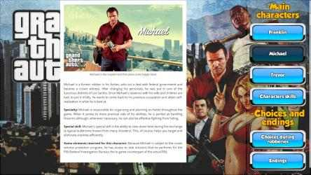 Captura de Pantalla 3 de GTA V GuideBook para windows