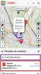 Captura 8 de Firenze dove, cosa... Km4city para windows