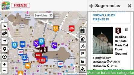 Captura 13 de Firenze dove, cosa... Km4city para windows