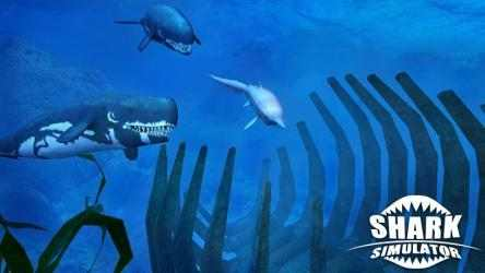 Captura 8 de Simulador de tiburones para android