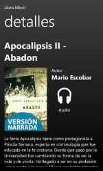 Screenshot 2 de Apocalipsis II - Abadon para windows