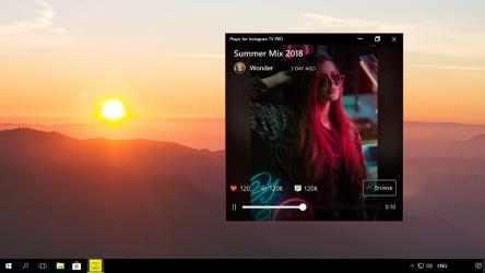 Screenshot 6 de Player for Instagram TV PRO para windows
