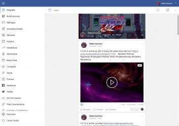 Captura de Pantalla 1 de Pages Manager for Facebook para windows