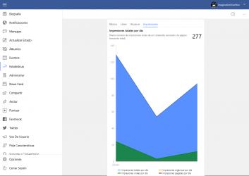 Screenshot 5 de Pages Manager for Facebook para windows