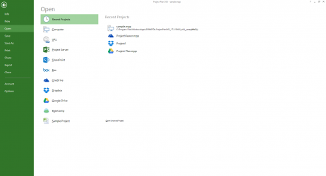 Captura 2 de Project Plan 365 para windows