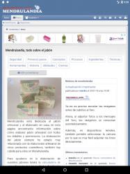 Screenshot 12 de Mendrulandia (calculadora de saponificación) para android