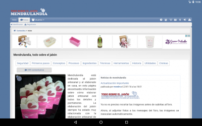 Captura de Pantalla 9 de Mendrulandia (calculadora de saponificación) para android