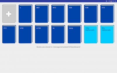 Captura de Pantalla 4 de Cuaderno digital para android
