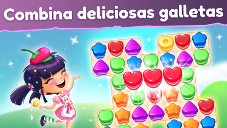 Captura de Pantalla 1 de Cookie Blast Fever - Match 3: Tour de cocina dulce para windows